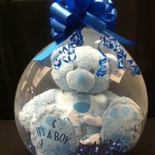 in a balloon gift stuffed balloon baby gift