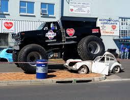 suzuki monster truck killarney revs up for high octane motor show iol motoring