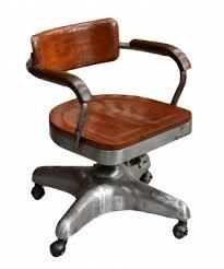 chaise de bureau style industriel fauteuils et chaises antiquites de marine casque de