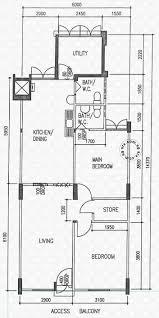 floor plans for ang mo kio avenue 3 hdb details srx property