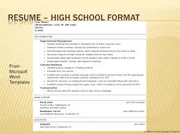 exles of high school resumes resume templates for australian high school students college essays