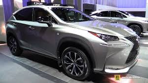 lexus f sport road bike 2017 lexus nx 200t f sport exterior and interior walkaround