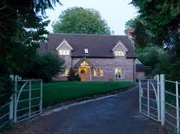 border oak brick cottage with internal oak frame as seen in the