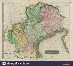 Map Venice Italy by Venetian States