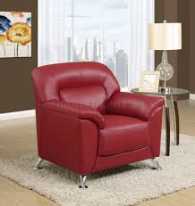 Red Loveseat Sofa U0026 Loveseat In Red Pvc By Global W Options