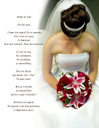 poeme sur le mariage poeme pour un mariage les meilleurs images d amour du web