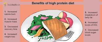 the benefits of a high protein low carb diet nutrition u0026 dieting