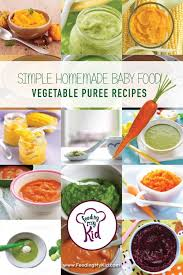 get simple homemade vegetable baby food recipes get tons of easy