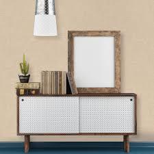 tempaper natural burlap wallpaper bu501 the home depot