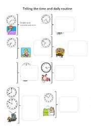 english worksheets daily routine worksheets page 86
