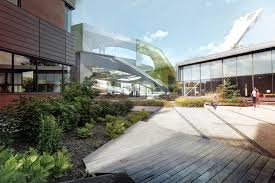 Glass Pavilion Competition Entry Saucier Perrotte Designs Glass Pavilion For