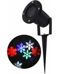 slash prices on zimtown 6 leds snowflake spotlights 6w projector