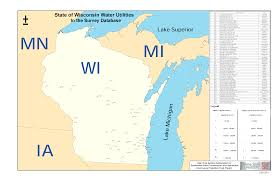 Wisconsin Illinois Map by Great Lakes Water Utility Map Sustainable Water Delivery Wayne