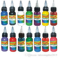 tattoo ink buy mix colors tattoo paint 30ml1oz bottle of ink tattoo permanent