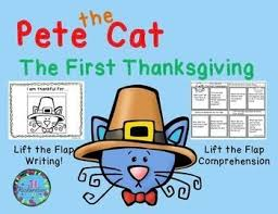 pete the cat thanksgiving 2018 cats