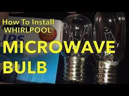 whirlpool microwave cooktop light bulb how to change replace whirlpool microwave hood light bulb model