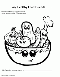 healthy food coloring pages preschool free food coloring pages for preschool