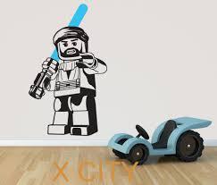 online get cheap star wars wall stencils aliexpress alibaba lego obi wan kenobi star wars movie art wall decal sticker removable vinyl transfer stencil mural
