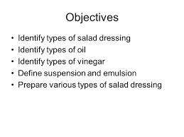 y2 u4 salad dressing garnish y2 u4 2 salad dressings ppt download