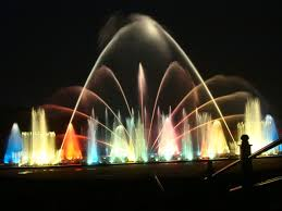 water fountain with lights file bangalore water fountain in lighting jpg wikimedia commons