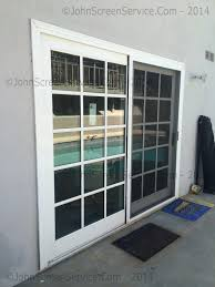 sliding glass doors repair of rollers glass sliding door u0026 screen door repair porter ranch