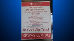 dairy owner defends politically incorrect sign cbs