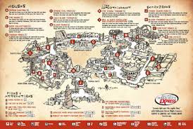 halloween horror nights hollywood map hhn 15 hhn legacy