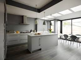 Modern Gray Kitchen Cabinets by 30 Beautiful Gray And White Kitchens That Get Their Combine Proper