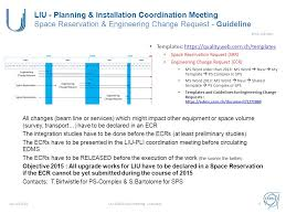 liu ions linac3 meeting liu project u2013 planning and installation