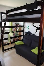 lit mezzanine et canapé best photo lit mezzanine 2 places avec canape lit photos