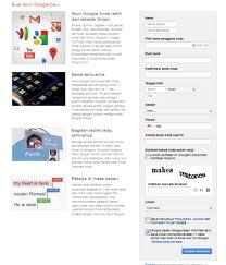 buat akun gmail bahasa indo daftar gmail cara membuat akun email di google mail dicuekin com