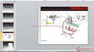 auto repair manuals takeuchi full set service training service