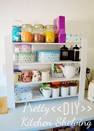 ideas for shelves in kitchen pretty diy kitchen shelving project wholeheartedly healthy uk