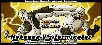 robocop electrocutes himself youtube robocop vs the terminator 1 atop the fourth wall youtube