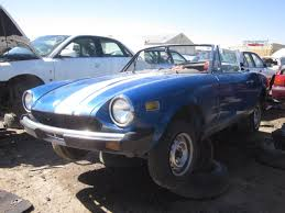 fiat spider 1978 junkyard find 1978 fiat 124 sport spider the truth about cars