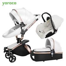 siege de bebe bébé poussette 3 en 1 siège de voiture haute vue landau pour pliant
