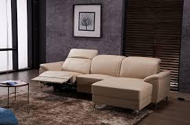 canapé de luxe canapé d angle relax en cuir de buffle italien de luxe 5 places brio