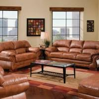 Light Brown Leather Sofa Living Room Delectable Image Of Furniture For Living Room