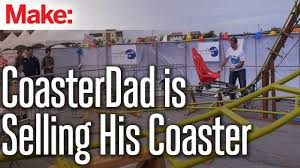coasterdad is selling his coaster youtube