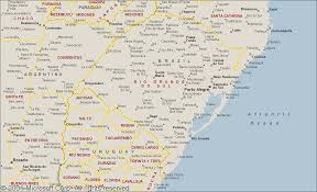 Brazil On South America Map by Worldtwitch Map Of Rio Grande Do Sul Brazil