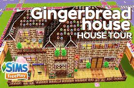 the sims freeplay gingerbread house original design youtube