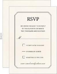 wedding invitation response card wedding invitation response card