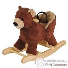 siege a bascule bebe bascule bebe siege ours avec ceinture de maintien histoire