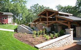 backyard portico addition exterior remodel detached garage follow