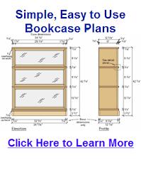 Barrister Bookcase Plans Plans Bookcase Expandable Dining Table Plans U2013 Storage Bench Plans