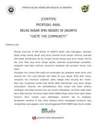 cara membuat proposal ide contoh proposal reuni akbar sma negeri 39