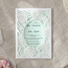 wedding invitation exle 107 best laser cut wedding invitations images on laser