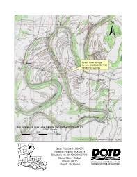 Louisiana Parish Map by Boeuf River Bridge On La 15 Richland Parish