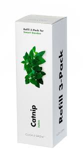 Click And Grow Refills Amazon Com Click U0026 Grow Catnip Refill 3 Pack For Smart Herb