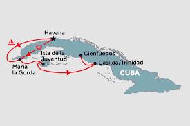 Cuba On A Map Cuba Tours Travel U0026 Trips Peregrine Adventures Au